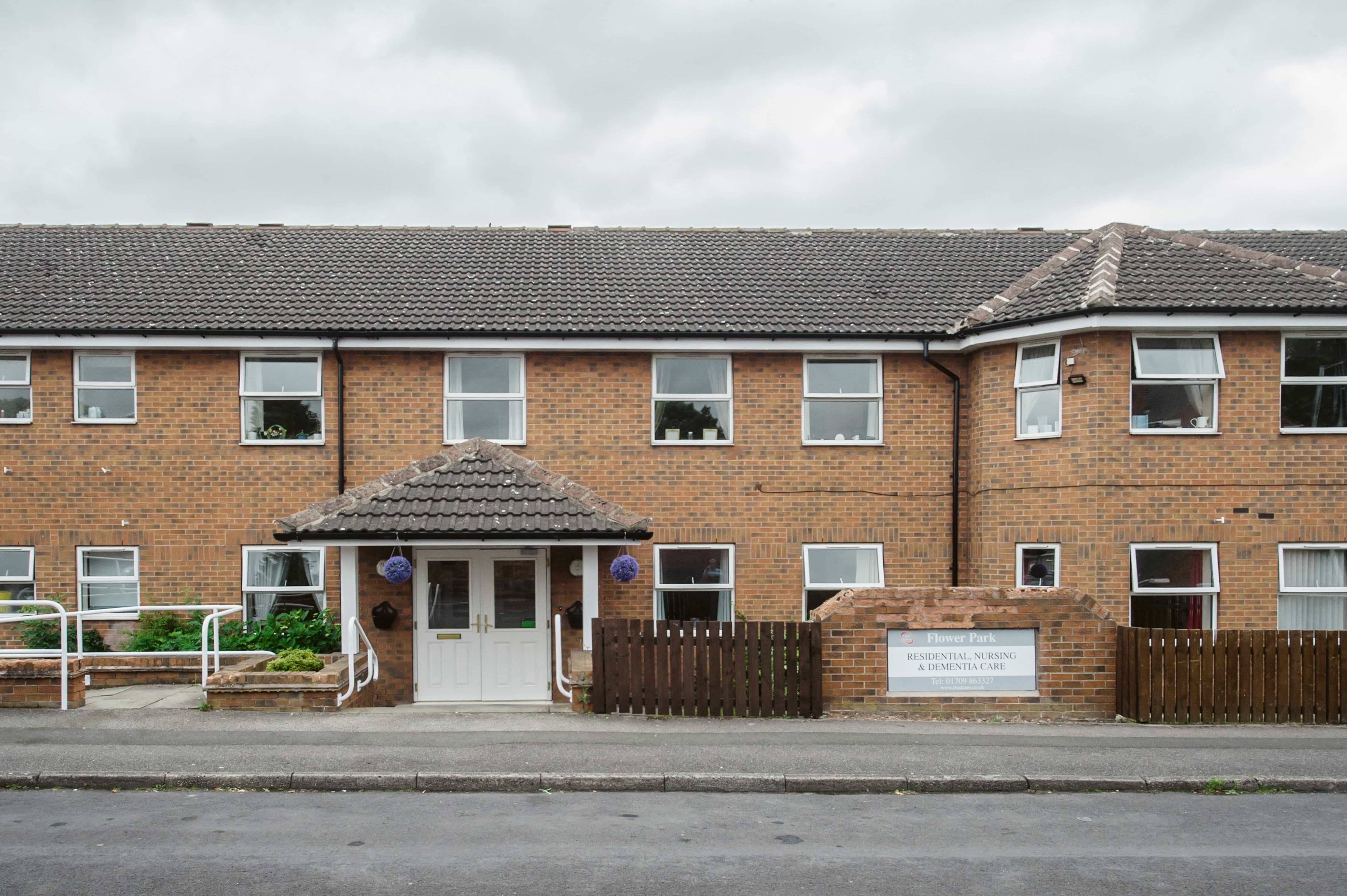 Care home in denaby main